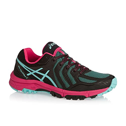 ASICS Gel-Fuji Attack 5 Womens Running Shoes - SS16-5 - Black