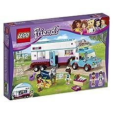 LEGO 41125 Horse Vet Trailer Building Kit, (370 Piece)