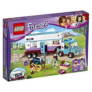 LEGO Friends 41125 Horse Vet Trailer Building Kit (370 Piece) - 61s7heU3P L - LEGO 41125 Horse Vet Trailer Building Kit, (370 Piece)