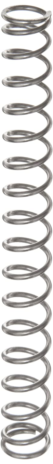 Compression Spring Stainless Steel Metric 11.25 mm OD 1.25 mm Wire Size 15.19 mm Compressed Length 44.5 mm Free Length 71.17 N Load Capacity 2.43 N mm Spring Rate Pack of 10
