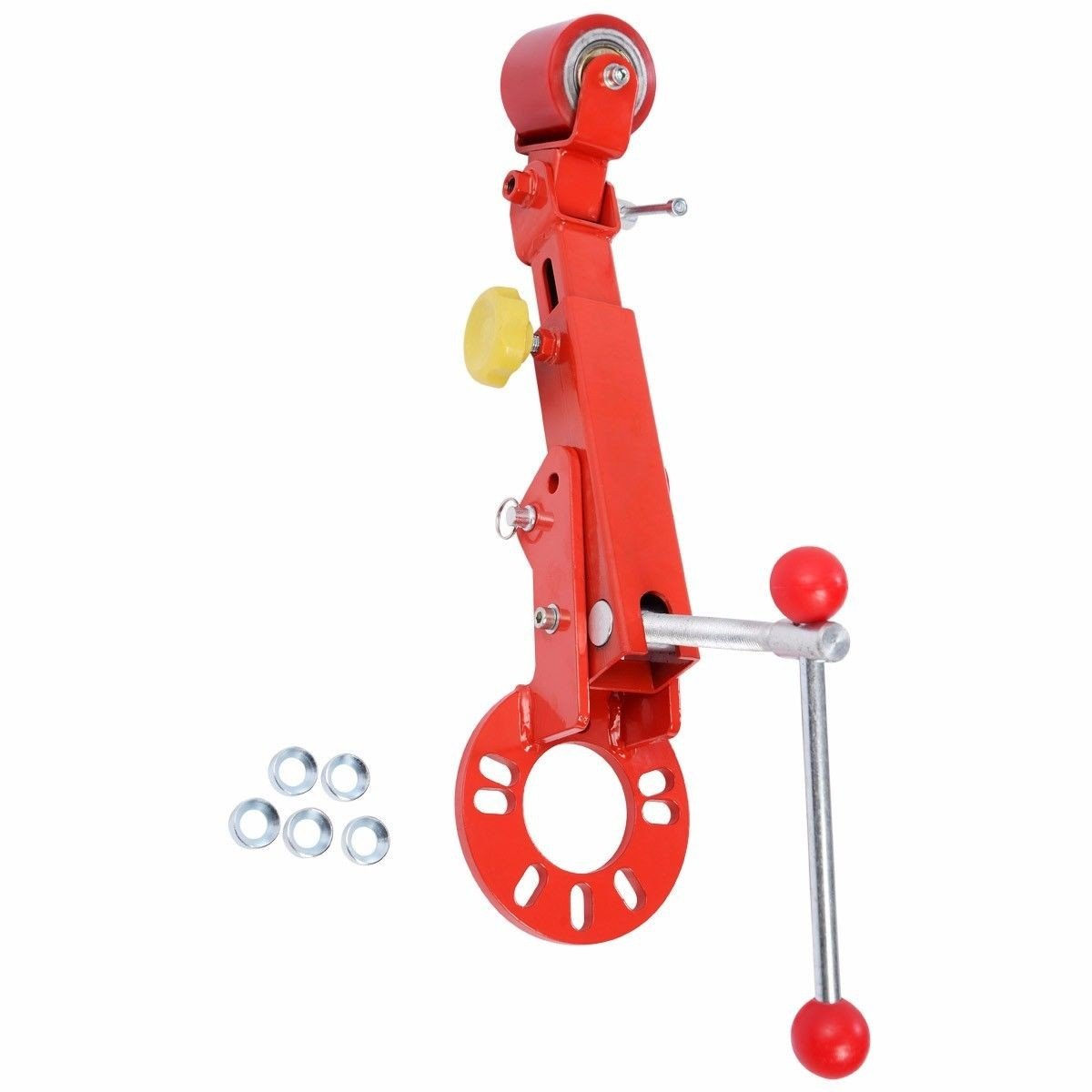Roll Fender Reforming Extending Tool Wheel Arch Roller Flaring Former Heavy Duty Ton Adjustable Height Red Black Tool Us Picker Pneumatic Useful BESTChoiceForYou