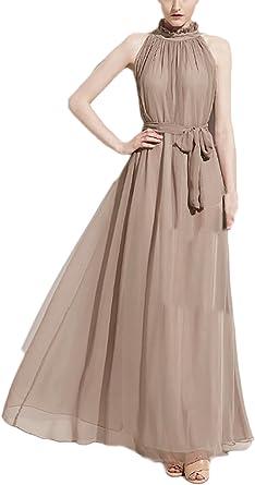 Vestiti Lunghi Eleganti.Donna Vestiti Lunghi Eleganti Da Cerimonia Estivi Chiffon Delle