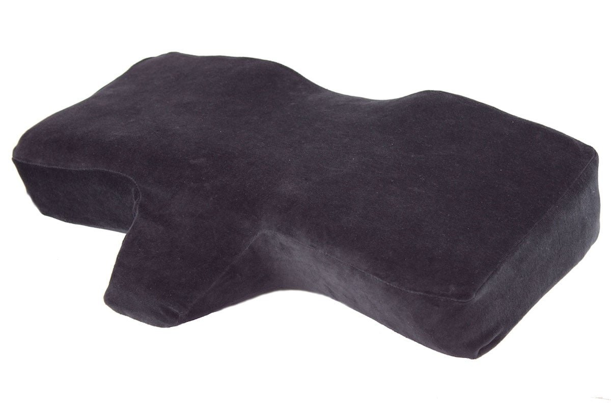 Eyelash Extension Application Pillow - Ergonomic Memory Foam | Medical Pillow | 25'' x 15.75'' x 4.33'' |Velvet | Contour Pillow with Neck Support