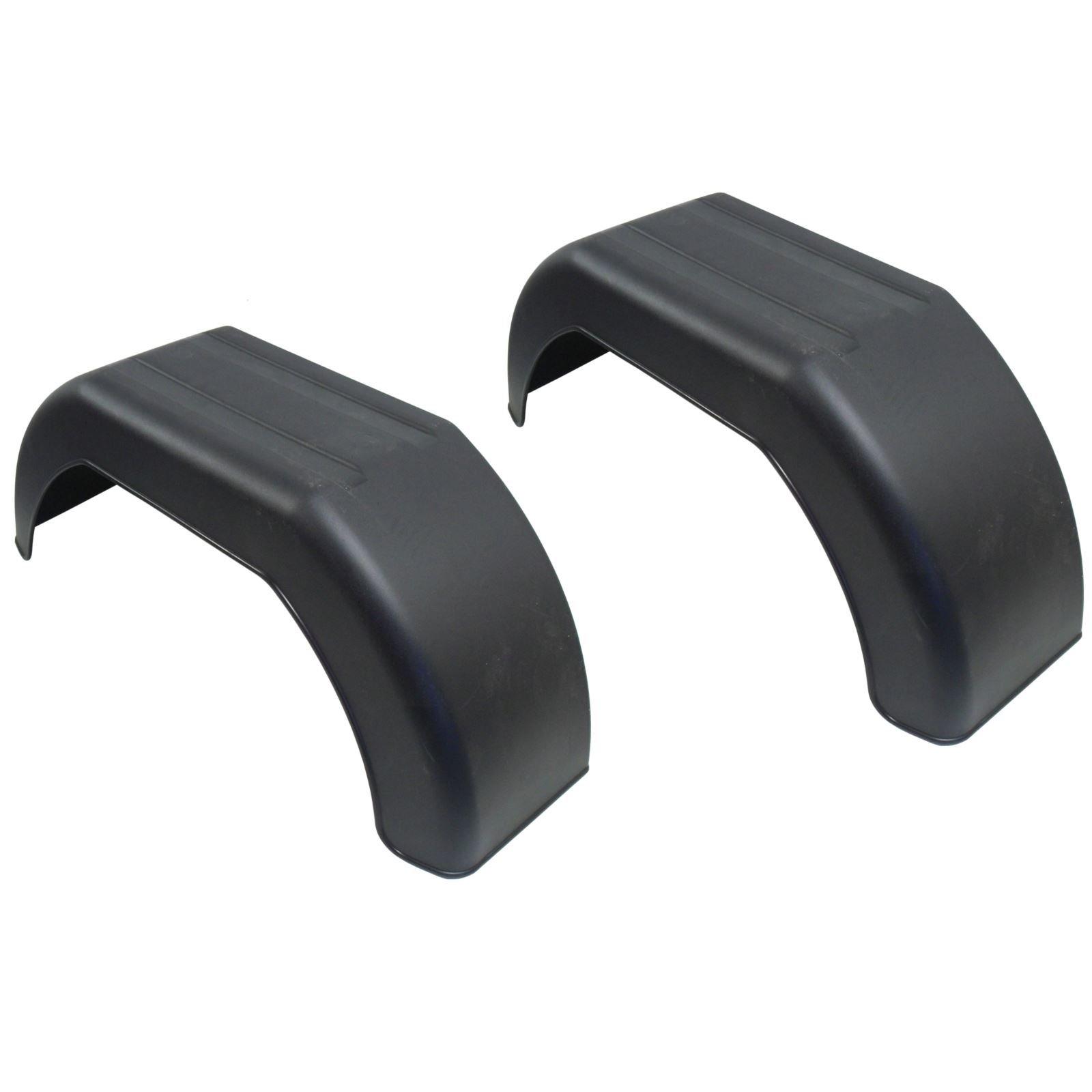 AB Tools-Maypole Mudguard for Trailer Wheels 10'' Plastic Pair/Wing/Fender TR002 by AB Tools-Maypole