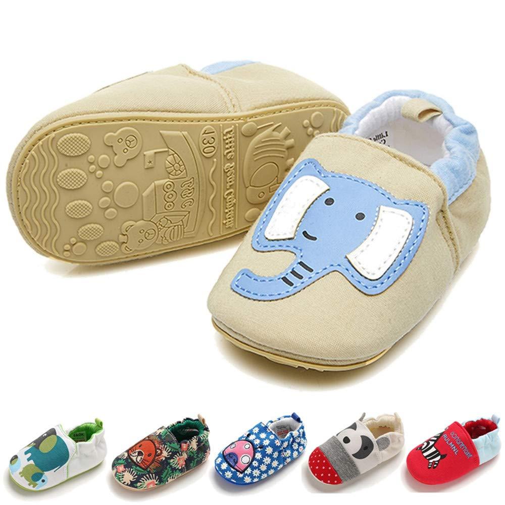 70073addf8be Amazon.com | TIMATEGO Infant Baby Boys Girls Slip On Shoes Cartoon ...