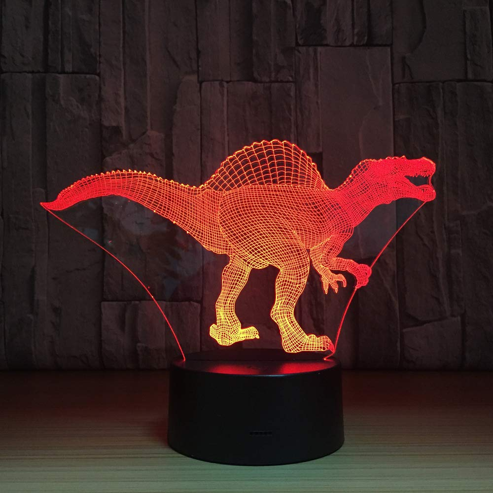 orangeww Truco o trato Luz de noche/Mesa de mesa 3D Ilusión ...