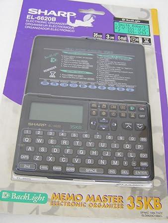Sharp EL6620B Electronic Organizer