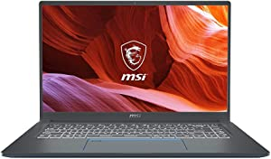 MSI Modern 14 A10RB-459 Ultra Thin and Light Professional Laptop Intel Core i5-10210U MX250 8GB DDR4 512GB NVMe SSD Win10Pro (Renewed)