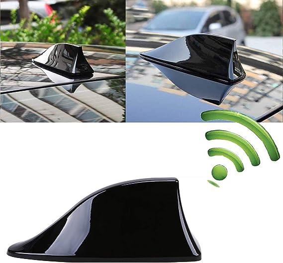 Heart Horse Antena de Coche con Forma de Caballo de corazón, Antena Universal de Aleta de tiburón, señal de Radio FM con Base