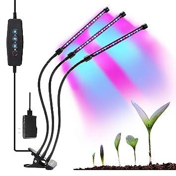 Amazon.com: Abbicen - Lámpara de cultivo para plantas de ...