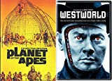 Westworld + Planet of The Apes DVD Science Fiction Double Feature