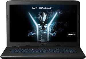 Medion Erazer P7651MD 6081043,9cm (17,3Mate Full HD Display) Ordenador Portátil (Intel Core i5–8250u, 8GB RAM, 1TB HDD, 128GB SSD, nVidia GeForce GTX 1050, Win 10Home) Negro
