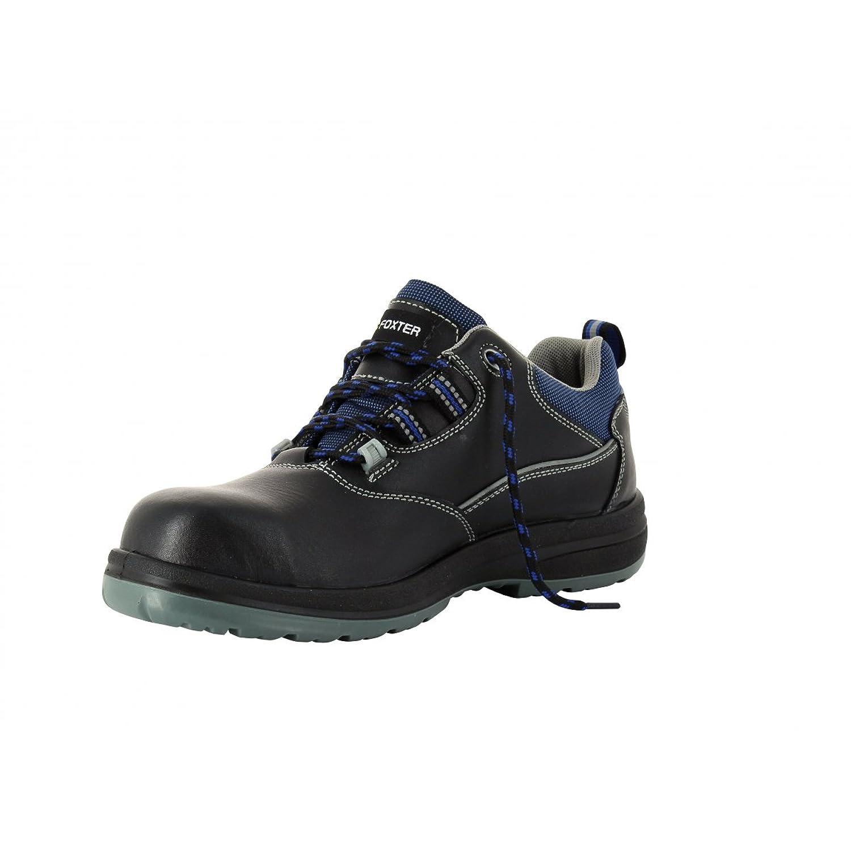 Zapatillas de seguridad baja S3 Mustang Foxter SRC, Negro (negro), 37