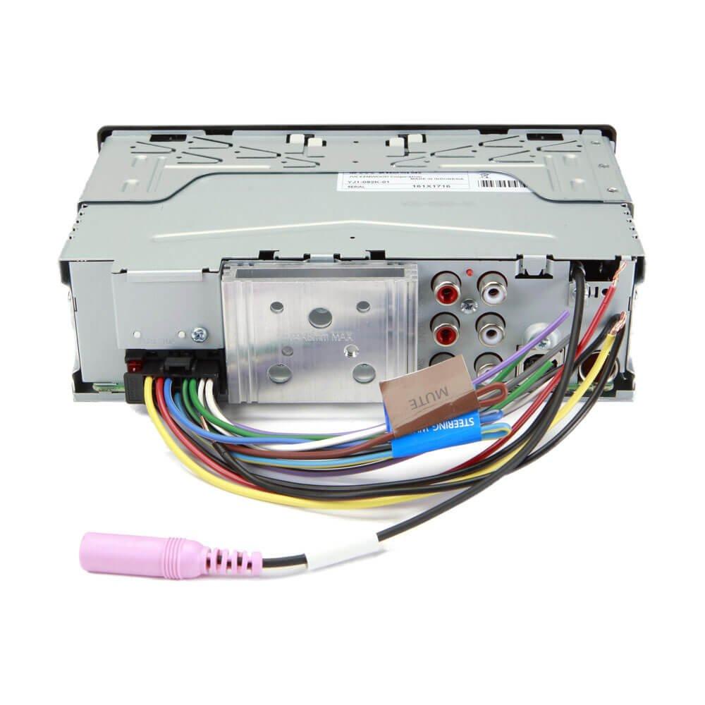Kenwood Kmm Bt318u Digital Media Player Cell Phones 1761 Radio Wiring Harness For Toyota 87up Power 4 Speaker Shopstak Accessories
