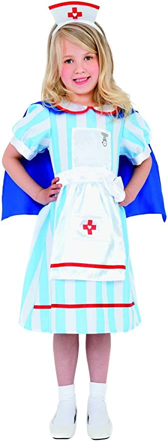 Vintage Style Children's Clothing: Girls, Boys, Baby, Toddler Smiffys Vintage Nurse Costume £12.98 AT vintagedancer.com