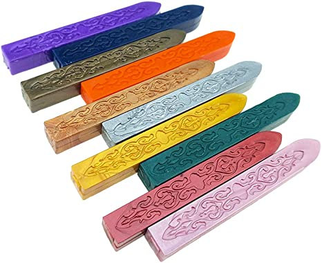 Sello de alta calidad sellado cera Stick sello para cartas invitación de bodaK