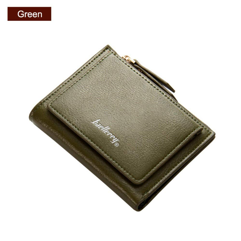 GENGXINLIN財布財布女性小財布カードスロットジッパーコインポケット財布女性財布財布Pu大容量A   B07MMP89TP