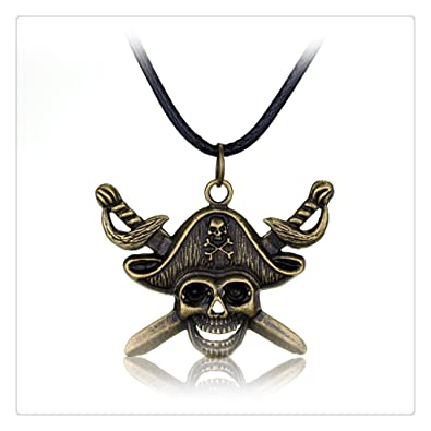 Amazon pirates of the caribbean captain jack sparrow skull pirates of the caribbean captain jack sparrow skull necklace gift for kids aloadofball Images