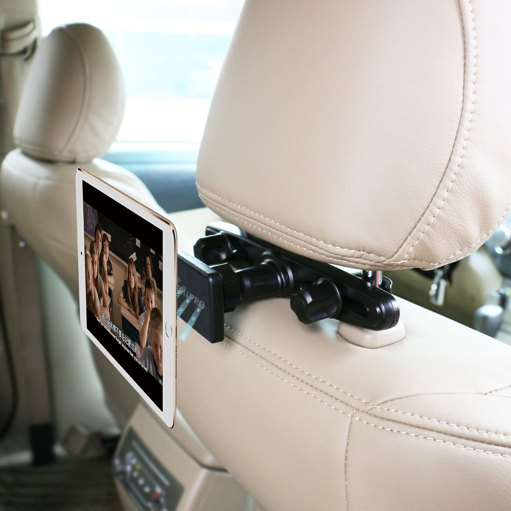 Magnetic Car Headrest Phone Tablet Holder Mount OHLPRO Backseat Seat Universal 360° Rotation Super Strong Magnet for iPhone 7/7Plus/6s iPad Mini4/3/2/1 Phone and Tablet 4'- 10' Mount Shenzhen Hengye hui Technology Co. Ltd
