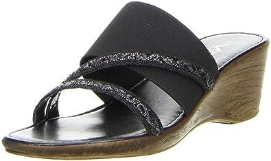 Vista Damen Pantoletten schwarz, Größe:38;Farbe:Schwarz