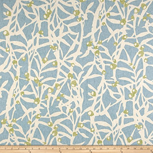 (PKL Studio 0565013 Origami Branch Spa Duck Fabric by The Yard)