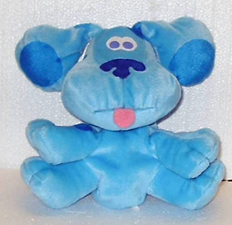 Amazoncom Blues Clues 7 Blue The Blue Dog Hand Puppet For