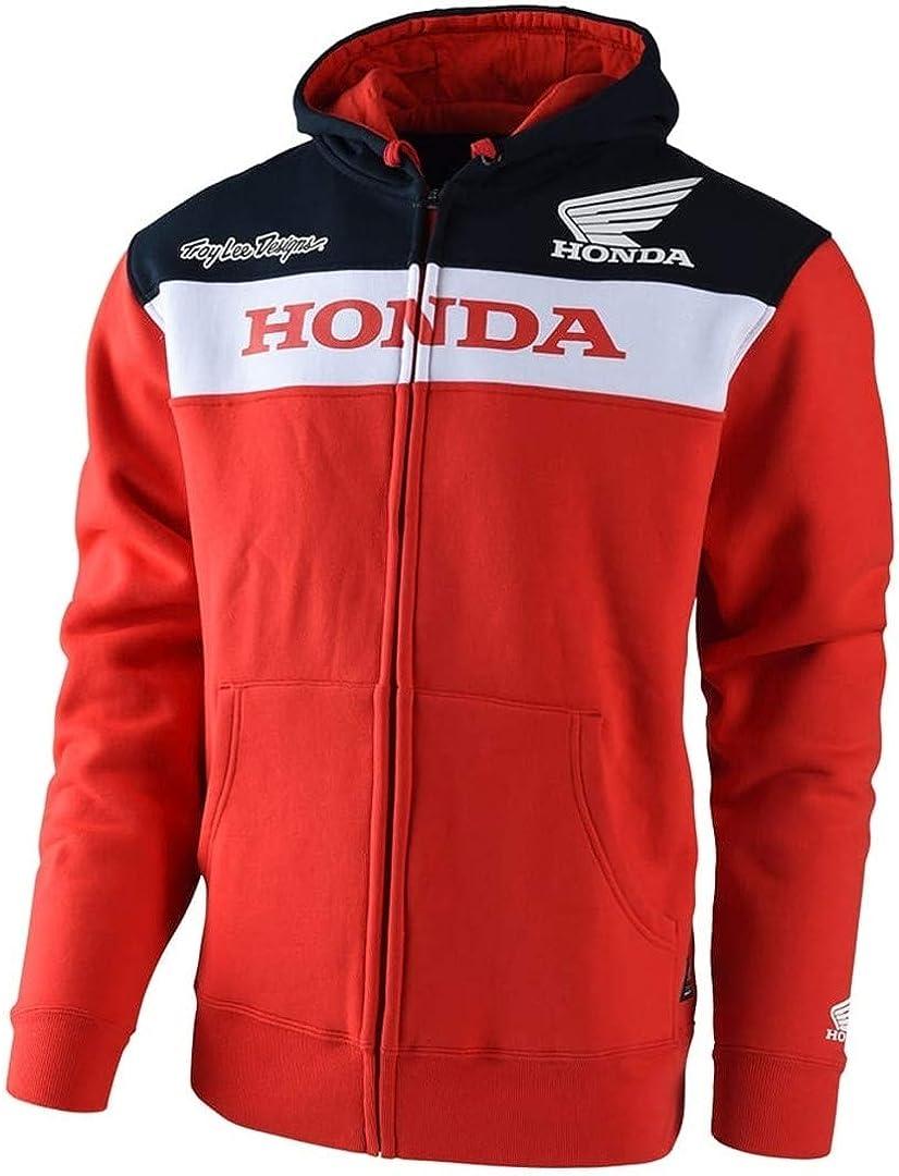 Troy Lee Designs Official Licensed Honda Zip Up Fleece