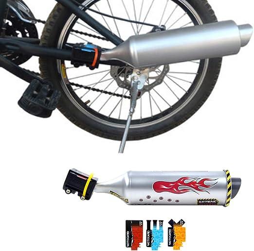 CVERY - Tubo de Escape para Bicicleta, Tubo de Escape Turbo para ...