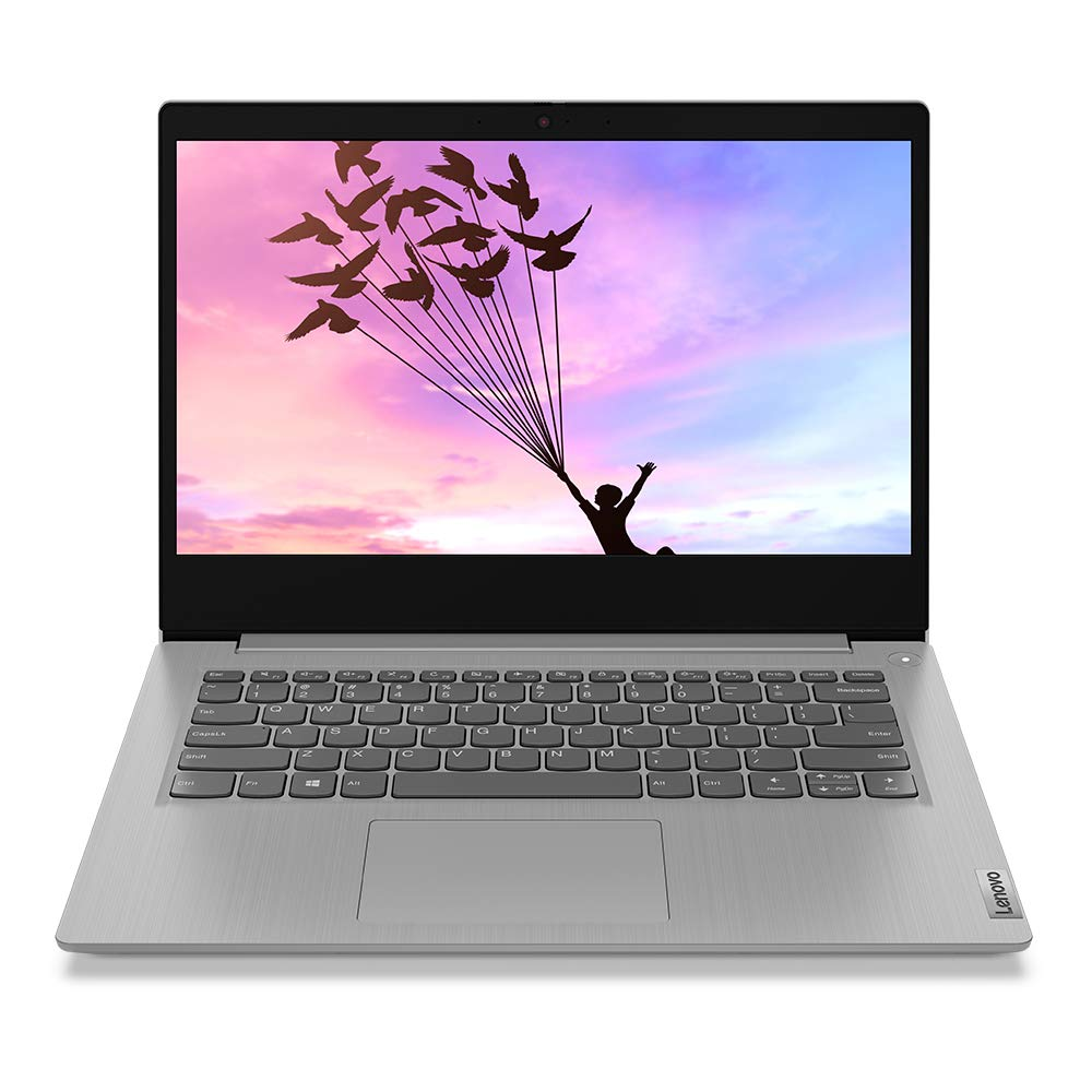 Lenovo IdeaPad Slim 3i 10th Gen Intel Core i3 14 inch Full HD Thin and Light Laptop (4GB/256GB SSD/Windows 10/MS Office 2019/Platinum Grey/1.6Kg), 81WD00THIN