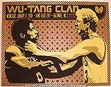 #9: 2008 Wu Tang Clan Silkscreen Concert Poster by Todd Slater