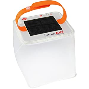 LuminAID Solar Inflatable Lanterns | Great for Camping, Emergency Kits and Travel | As Seen on Shark Tank
