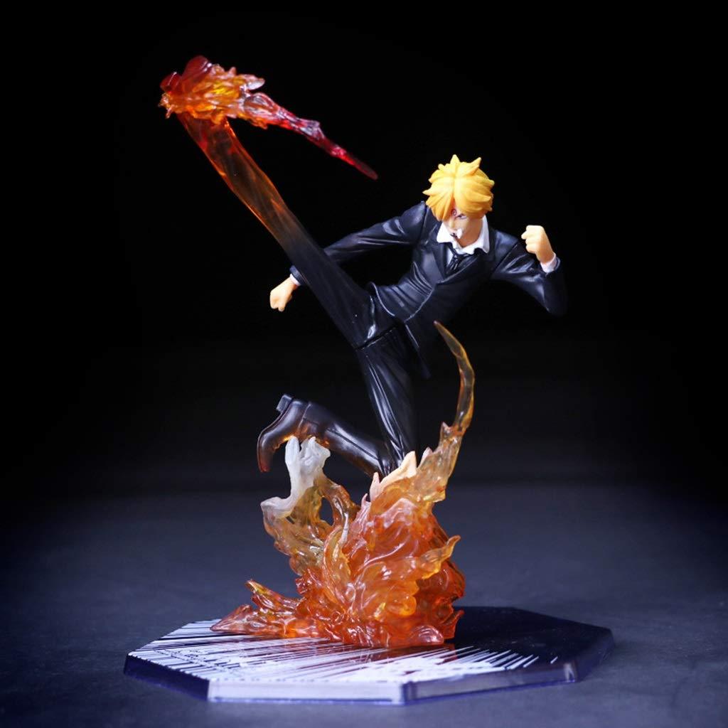CCJW One Piece Model Toy Statue Exquisite Anime Decorazione Bambola Decorazione 16cm