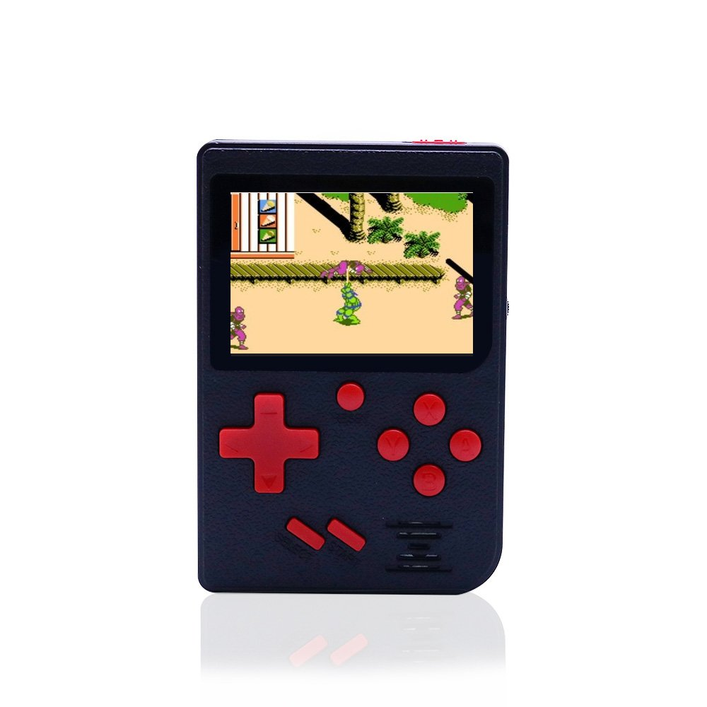 dainslef Handheld Game Console, 129 Games Retro FC Game Player Video Game Console with USB Charge for Children Parents Friends 3-5 Years Old Gift (Black)