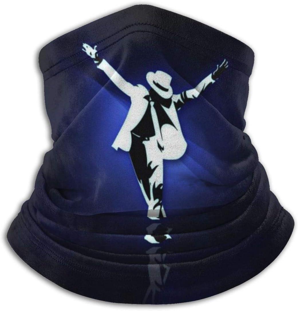 HUHAOCZ Michael Jackson - Máscara de protección para el cuello y la piel, supersuave, antihumedad, antifaz para la cabeza, pañuelo protector