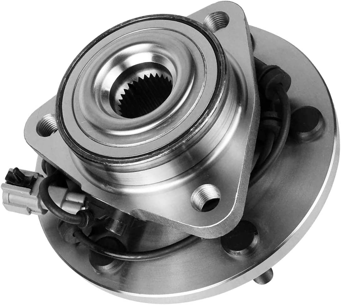 6 Stud Hub W//ABS EXC. Pathfinder Front Wheel Bearing and Hub Assembly TUCAREST 515066 Compatible With 2004 05 06 2007 Infiniti QX56 Nissan Titan 05-07 Armada 04 Pathfinder Armada
