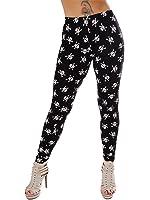 Love My Fashions Women's Small Skull Print Leggings