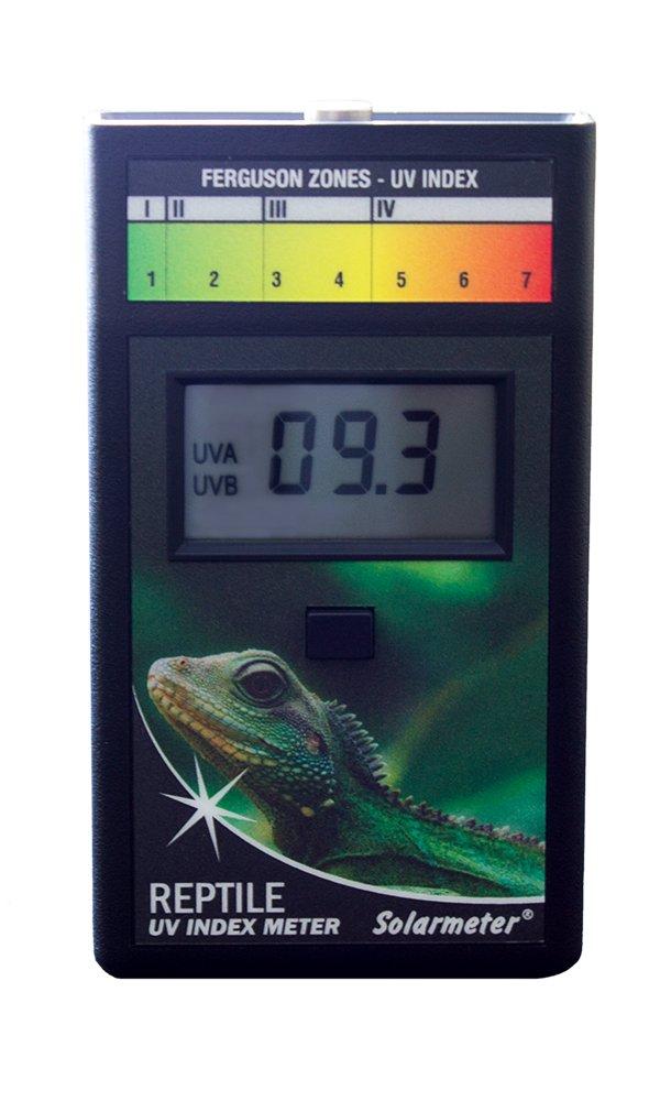 Solarmeter Model 6.5R Reptile UV Index Meter, ABS Polymer, Black by Solarmeter