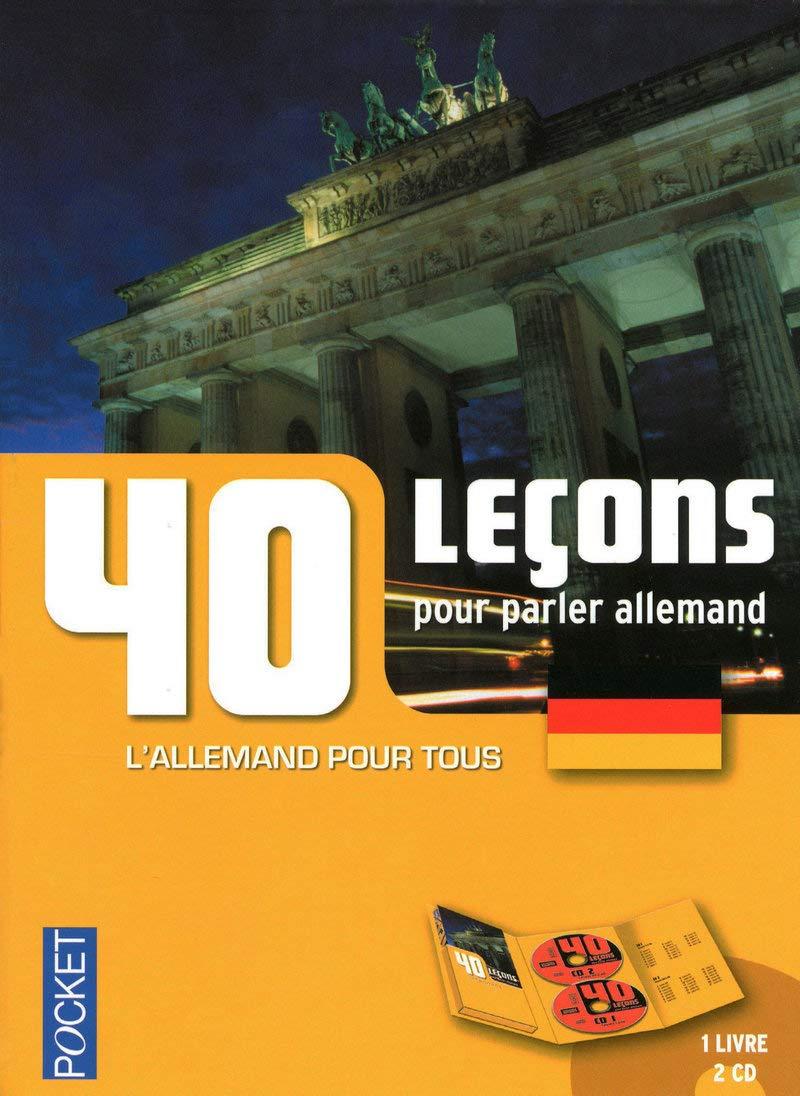 Amazon Fr Coffret 40 Lecons Pour Parler Allemand Livre