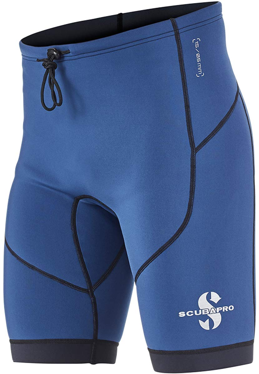 Scubapro Men's 1.5mm Everflex Shorts (X-Large, Aegean)