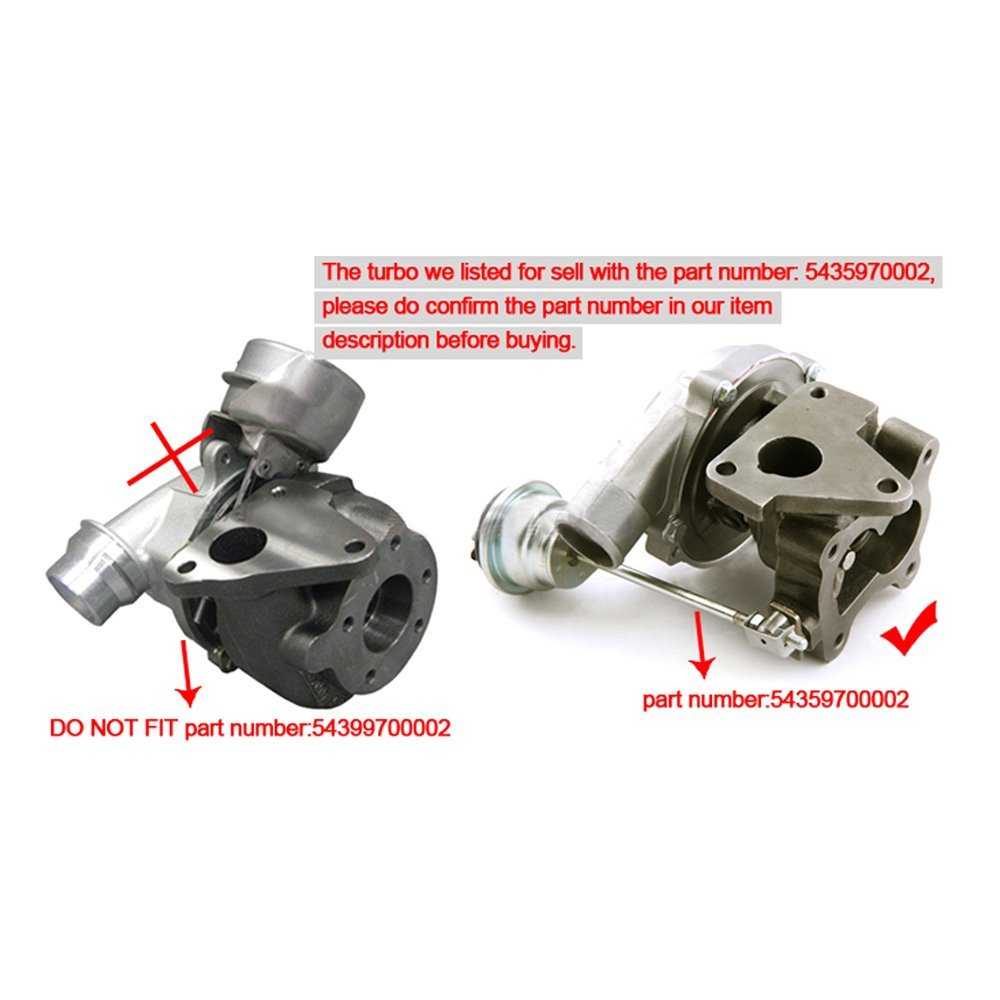 Amazon.com: maXpeedingrods KP35 Turbo Turbocharger for Renault Clio Kangoo Megane Scenic 1.5DCI 54359700000: Automotive