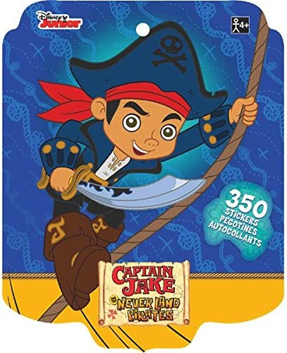 Disney Jake and the Never Land Pirates 4 Sticker Sheets Over 270 Stickers