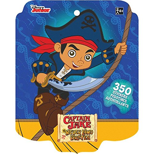 Disney Jake and the Neverland Pirates Sticker Book | Party Favor]()