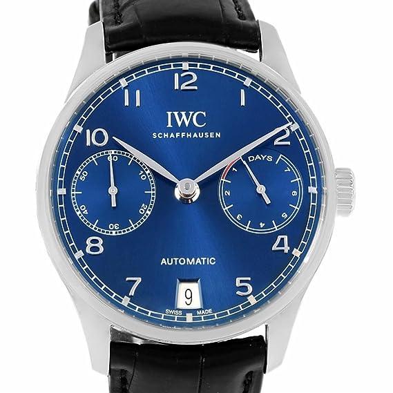 IWC automatic-self-wind Mens Reloj (Certificado) de segunda mano: IWC: Amazon.es: Relojes
