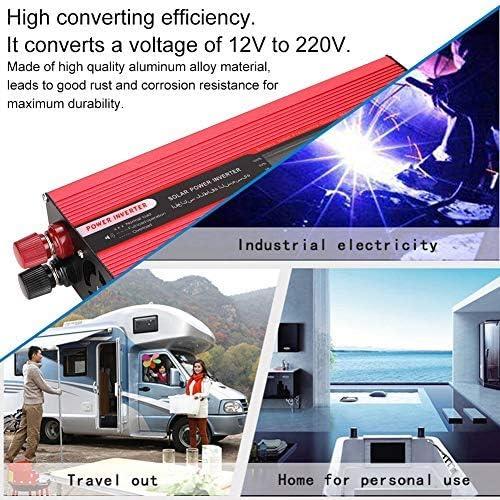 10000W Auto Wechselrichter Sinus DC12V zu AC220V mit USB Port Converter Charger
