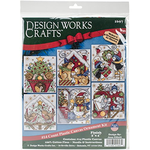 Design Works Crafts Home for Christmas Cross Stitch Ornament