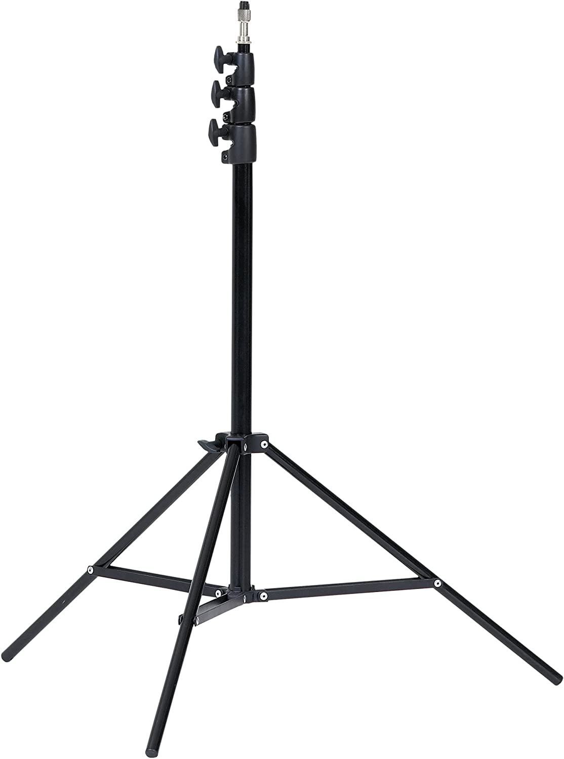 Creative Light 101103 LS48 4 Sections//8-Feet Stand Black
