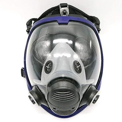 Máscara gas 6800 de cara completa, unidad facial, respirador, adecuado para