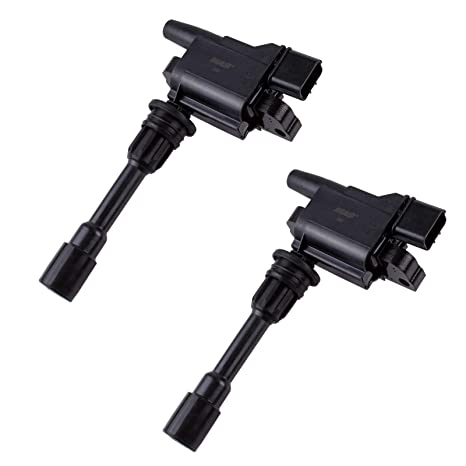 MAS Set of 2 Ignition Coils For 01-03 Mazda Protege 01-03 Mazda Protege5 L4  2 0L UF407 C1340 UF-407