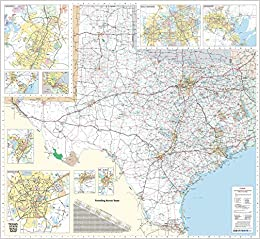 Geographical Map Of Texas.48x70 Texas State Official Executive Laminated Wall Map Tx Dept Of