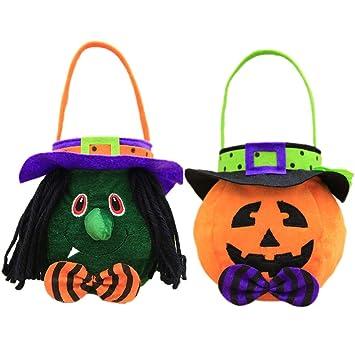 Amazon.es: BESTOYARD 2 unids Truco de Halloween o Bolsas de ...